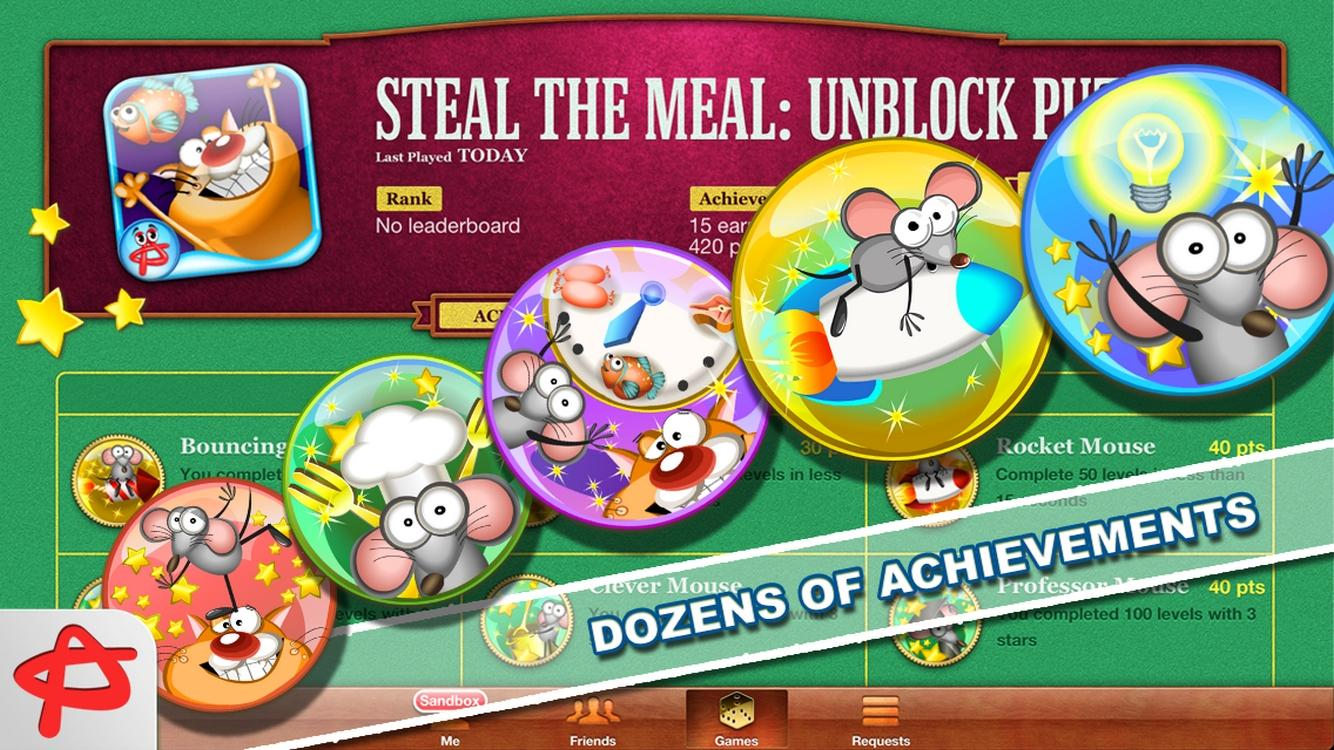 Steal the Meal: Unblock Puzzle- screenshot