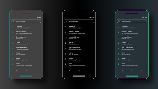 Streamlined Screenshot