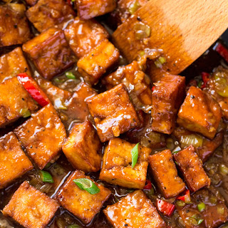 Vegan Black Pepper Tofu Recipe