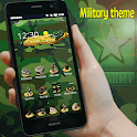 Tema de camuflaje militar icon