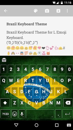 Brazil Keyboard Emoji Keyboard
