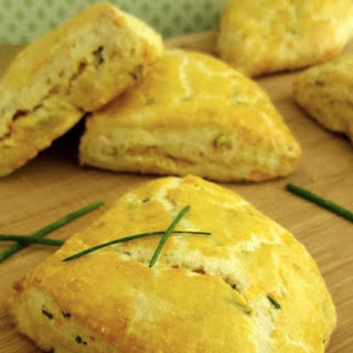 Savory Chive & Cheddar Scones