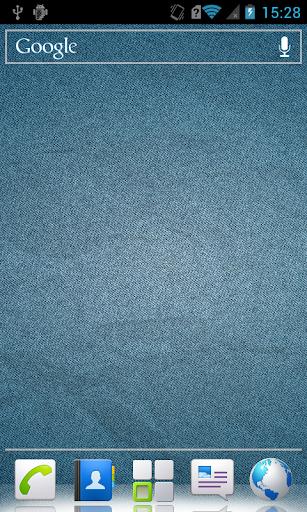 Dark blue HD live wallpaper