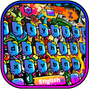 Graffiti Keyboard Theme