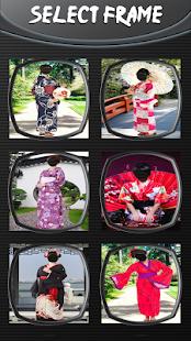 Kimono foto editor - náhled