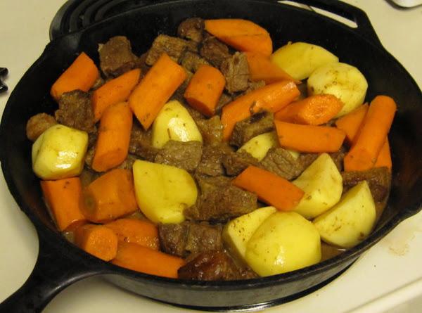 Kitty's Roast Beef Carrots & Potatoes Recipe