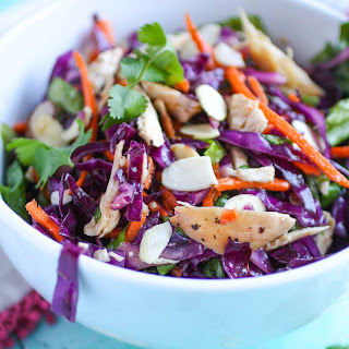 Crunchy Cabbage & Chicken Salad with Sesame Dressing Recipe