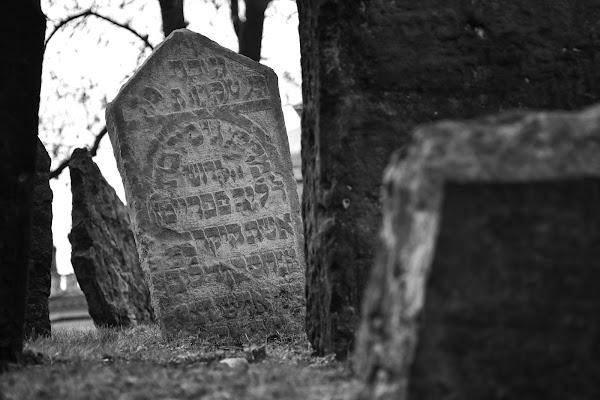 Cimitero ebraico, Praga di lorella