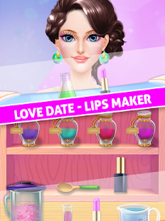 Lips Makeup and Spa - Date Love Story - náhled