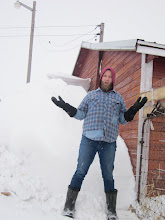 Photo: Amazing amount of snow at the end of March