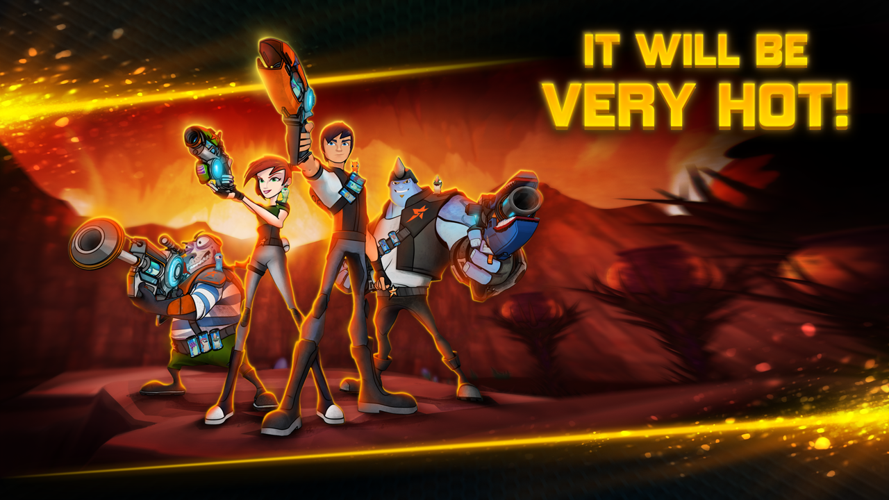 Slugterra: Dark Waters- screenshot