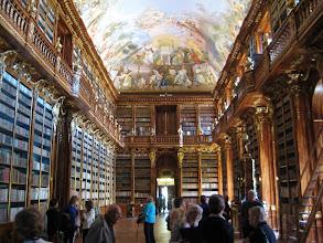 Photo: One room of the Strahov monastery library near Prague Castle.