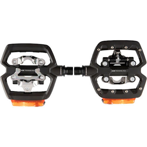 Look GEO TREKKING ROC VISION Pedals - Single Side Clipless w/ Platform