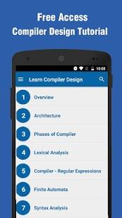 Learn Compiler Design - náhled