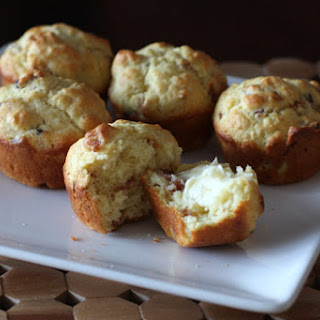 Savory Bacon Muffins.