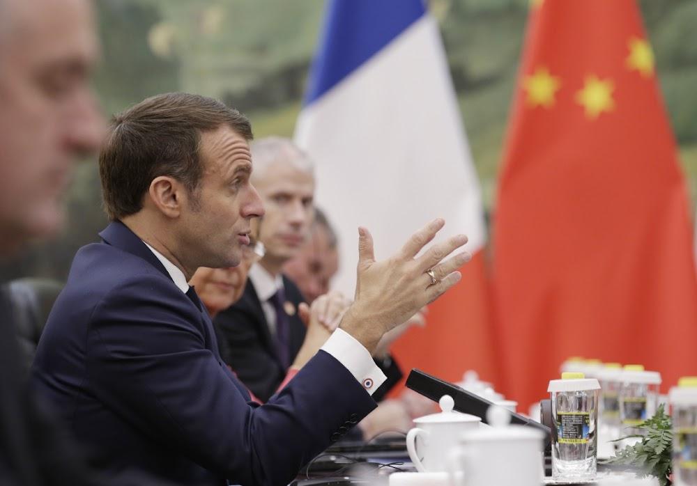 EU deficit caps 'belong in the past century', says Macron