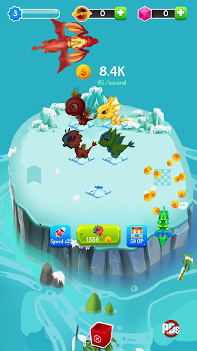 Code Triche Merge Dragons - Click and Idle Merge Game APK MOD (Astuce) screenshots 2