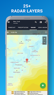 1Weather Forecasts, Widgets, Snow Alerts & Radar Pro 4.6.0.0 5