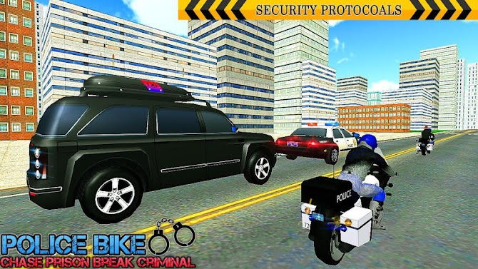 US Police Bike Chase Bitcoin Robber Android 15