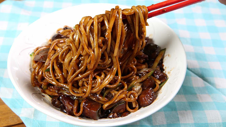 Vegan Jjajangmyeon Recipe