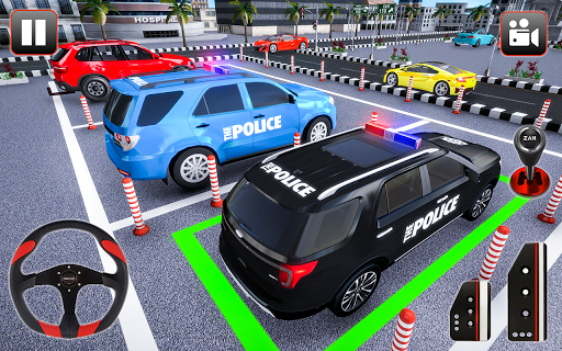 Police Parking Adventure - Car Games Rush 3D apkpoly screenshots 12