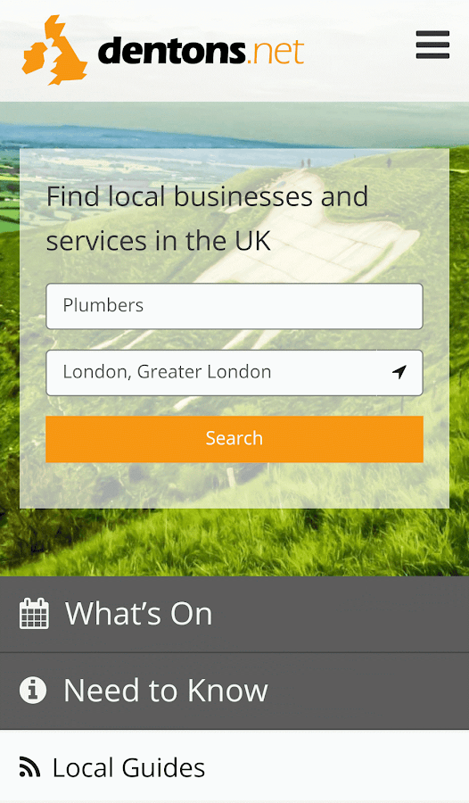 Business & Services Directory- screenshot