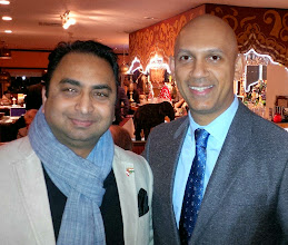 Photo: Dinner with incoming High Commissioner to India His Excellency Nadiry Patel, representing Canadians in India.
