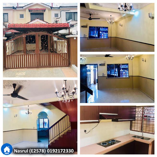 Unit Teres 2 tingkat di Green Valley Park, Bandar Tasik Puteri, Rawang