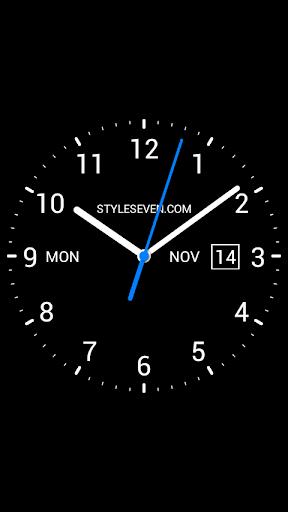 Analog Clock Live Wallpaper-7 screenshot 4