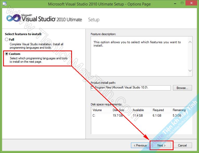 Download Visual Studio 2010 Full + Hướng Dẫn Cài Đặt