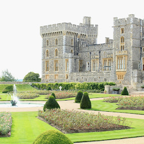 Windsor Palace by Ashley Rolland - Buildings & Architecture Public & Historical ( english landscape, windsor, england, castle, castles of europe, windsor castle, castles of england, royal living,  )