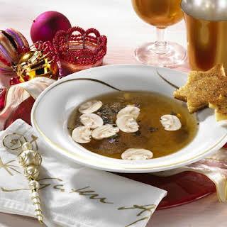 Porcini Mushroom Soup.