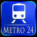 Metro 24 icon