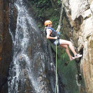 Near Death Experience in Da Lat Vietnam while Canyoning