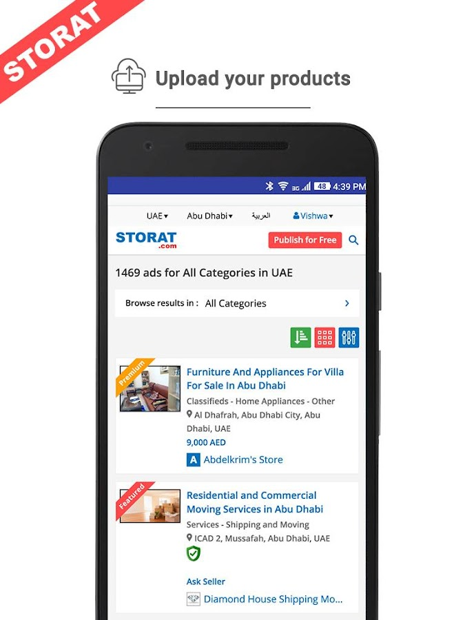 Storat- screenshot