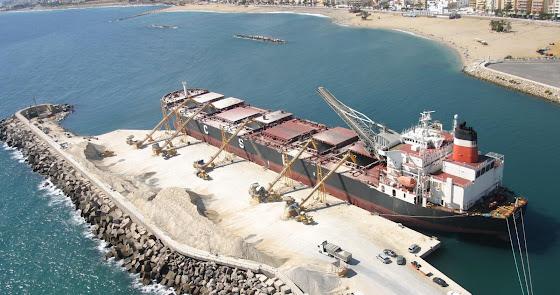 El Puerto de Garrucha exporta el doble que los de Almería y Carboneras juntos