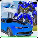Super Mech Robots War: Laser Car Muscle Transform APK