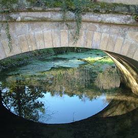 Arundel Bridge by John Powell - Buildings & Architecture Bridges & Suspended Structures ( reflection bridge )