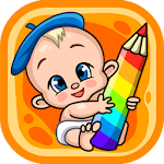 Live coloring pages for children Icon