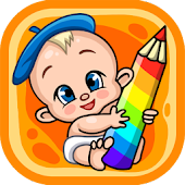 Live coloring pages for children
