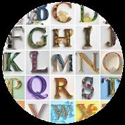 Quilling Paper Alphabets