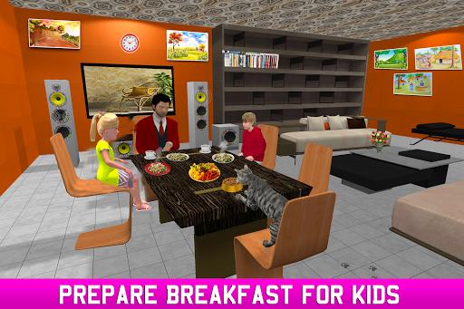 Virtual Single Dad Simulator: Happy Father Apk 2