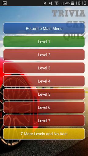 Trivia Car Quiz Free
