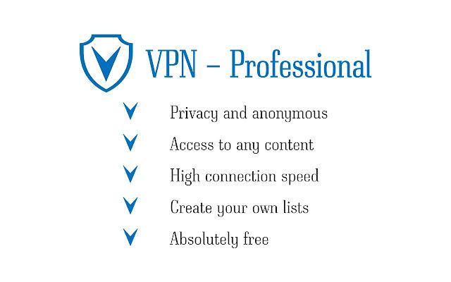 VPN Professional - Free Unlimited VPN Proxy
