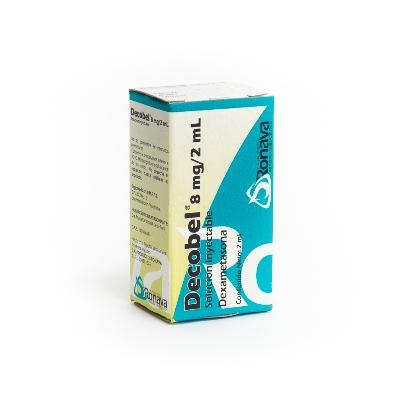 dexametasona decobel 4mg/ml 2ml 1ampolla ronava