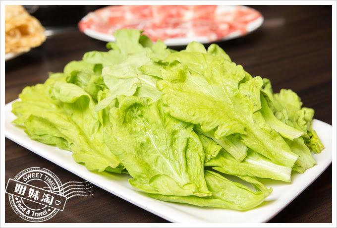 名家汕頭沙茶火鍋菜單茼蒿