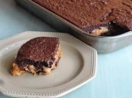"Turtle Cake ""I made this yesterday, and it is almost gone already because..."