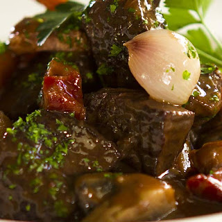 A classic French beef and red wine stew that's all about flavours!