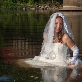 Erin 02 by Carter Keith - Wedding Bride ( rock the frock, wet  brides, wedding dresses, brides, trash the dress )