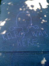 Photo: Kilroy was here, apparently.